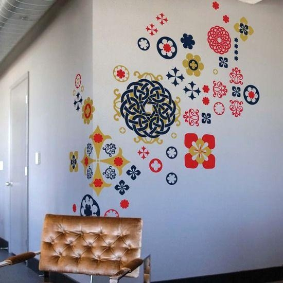 89 Best Design: Wall Art Images On Pinterest | Wall Stickers Intended For Blik Wall Art (Photo 12 of 20)