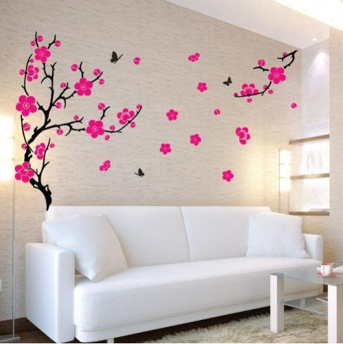 89 Best Wall Art Images On Pinterest | Home, Vinyl Wall Decals And Within Cherry Blossom Vinyl Wall Art (Image 4 of 20)