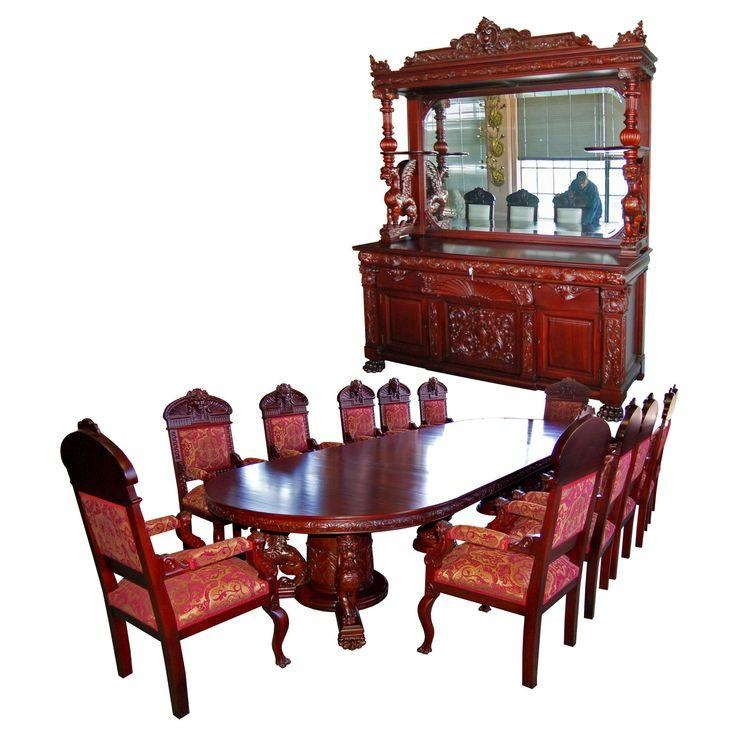 9 Best Antique Dining Sets Images On Pinterest | Victorian Decor In Most Up To Date Ebay Dining Suites (Image 7 of 20)