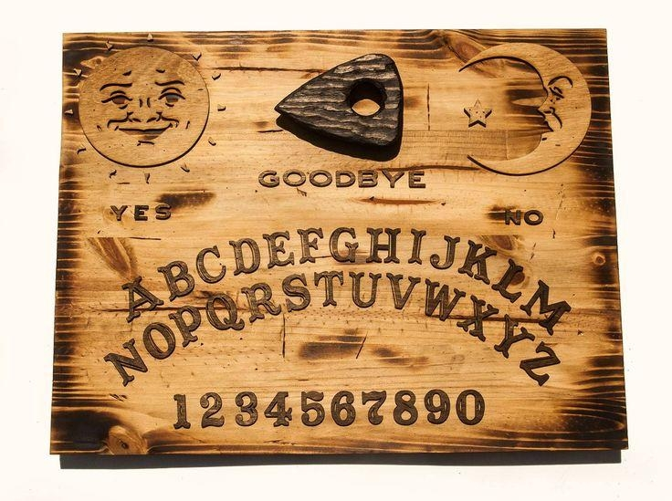 9 Best Handmade Wooden Ouija Board Wall Art Images On Pinterest With Regard To Ouija Board Wall Art (Image 3 of 20)