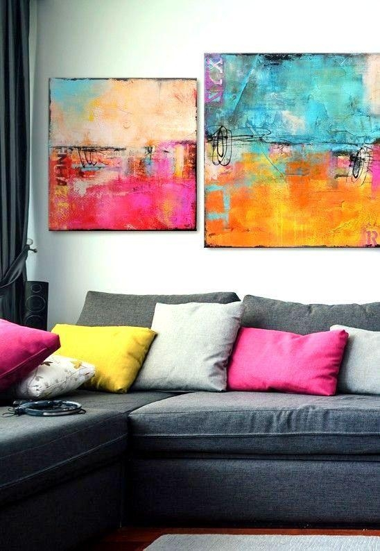 90 Best Painting Images On Pinterest | Live, Colors And Dark Walls Intended For Colorful Abstract Wall Art (Image 5 of 20)