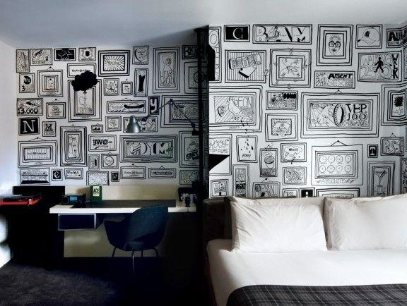 91 Best Around The House Images On Pinterest | Sharpies, Sharpie Intended For Sharpie Wall Art (Image 5 of 20)