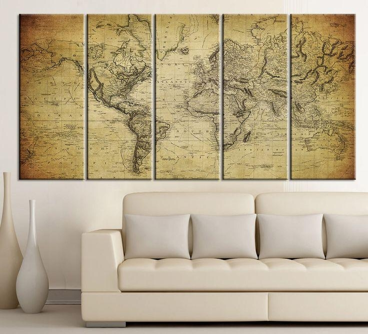 919 Best Large Wall Art Canvas Printing Images On Pinterest Inside Five Piece Wall Art (Image 6 of 20)