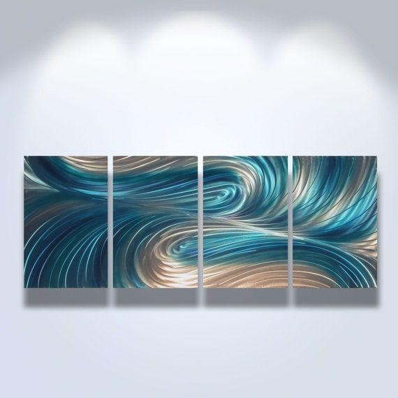 98 Best Metal Art Images On Pinterest | Metal Walls, Metal Wall Within Turquoise Metal Wall Art (Image 1 of 20)