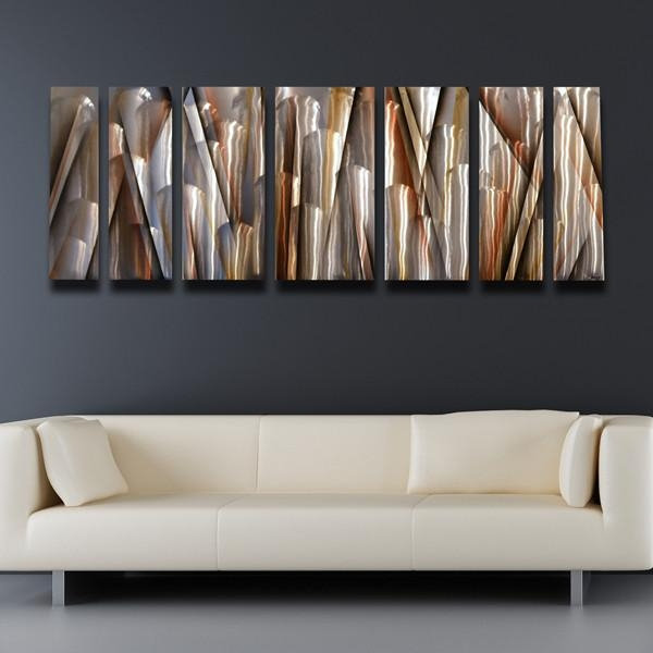 Abstract Metal Wall Art Art Galleries In Contemporary Metal Wall For Extra Large Contemporary Wall Art (Image 4 of 20)