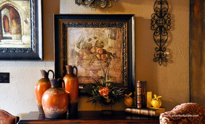 Accents Of Salado Furniture Store In Salado, Texas Tuscan Furniture Within Rustic Italian Wall Art (Image 5 of 20)