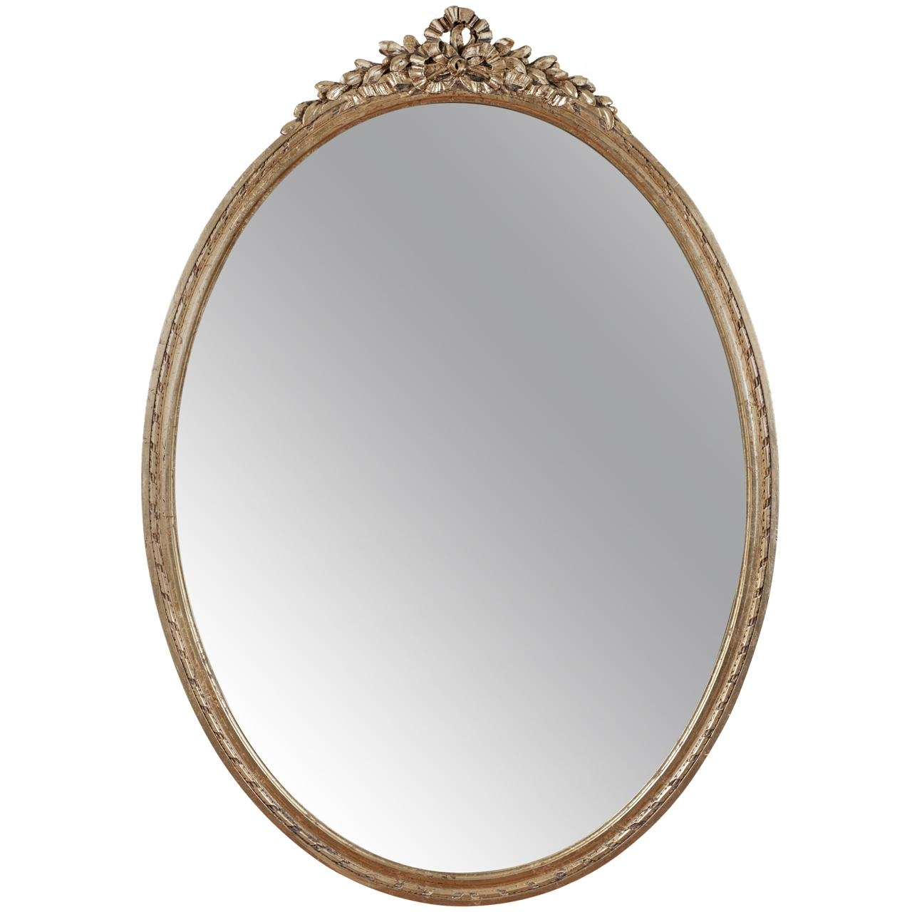 Accessories: Heavenly Image Of Accessories For Vintage Bedroom And Inside Gold Oval Mirrors (Image 2 of 20)