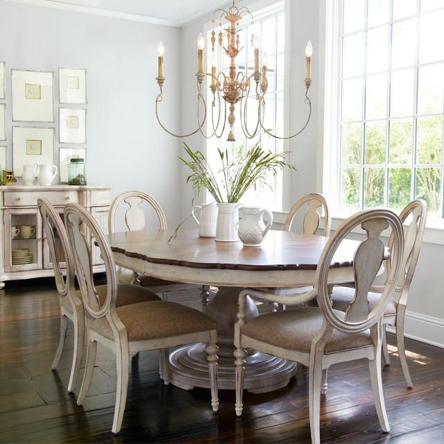 Adorable Shabby Chic Dining Chairs With Tabitha Dining Furniture With Most Current Shabby Chic Dining Sets (Image 1 of 20)