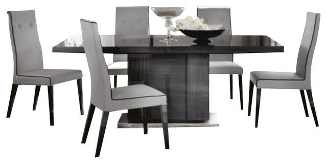 Alf Monte Carlo 7 Piece Dining Set – Modern – Dining Sets – Inside Modern Dining Sets (Image 3 of 20)