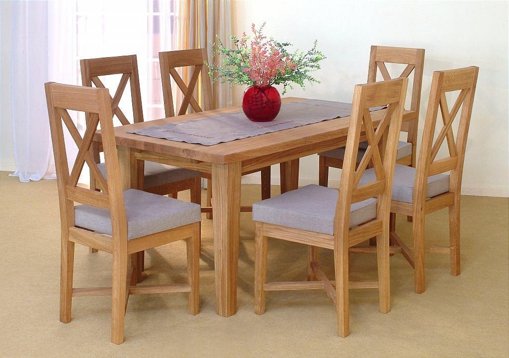 Alfred Smith Collection – Penzance Oak Dining Set Throughout Oak Dining Sets (View 4 of 20)