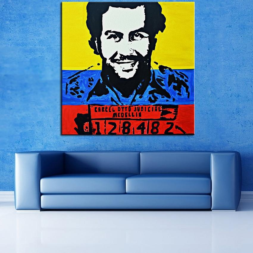 Aliexpress : Buy Large Size Printing Oil Painting Dope Pablo Inside Dope Wall Art (View 11 of 20)
