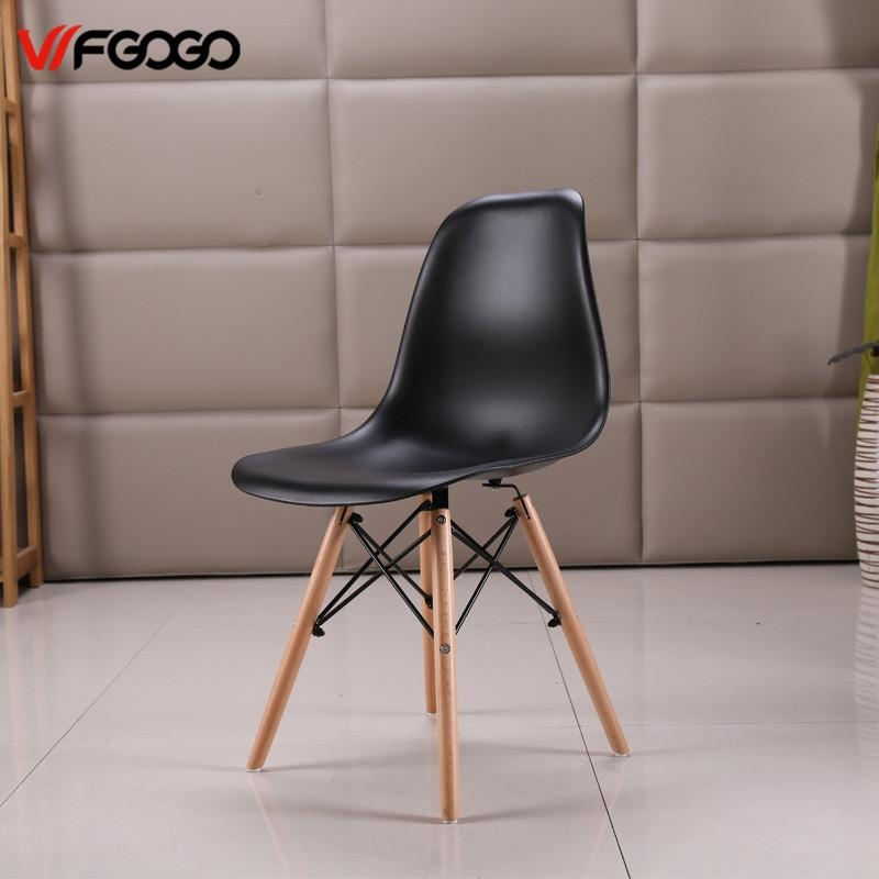 Aliexpress : Buy Wfgogo Fashion Dining Chairs Simple Plastic With Regard To 2018 Stylish Dining Chairs (Image 5 of 20)