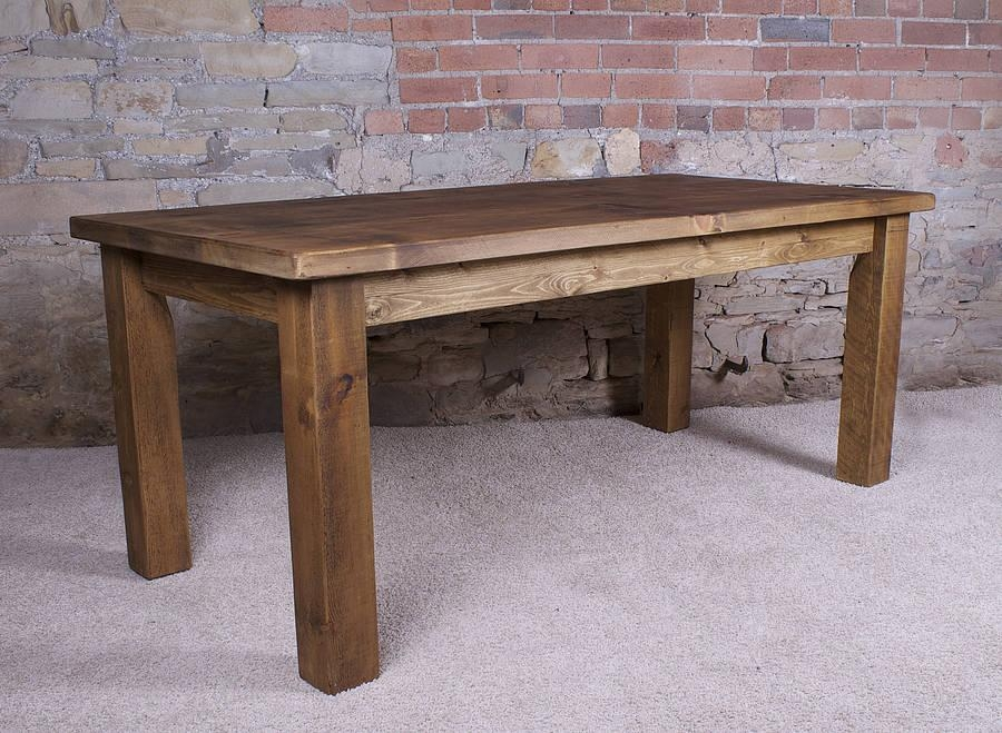 Alluring Real Wood Dining Table With Solid Wood Dining Tables Pertaining To Most Up To Date Solid Wood Dining Tables (Image 1 of 20)