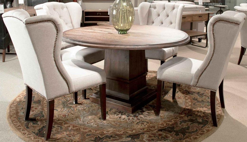 Al's Woodcraft's Weathered Dining Room Furniture Pertaining To Latest Hudson Dining Tables And Chairs (Image 2 of 20)