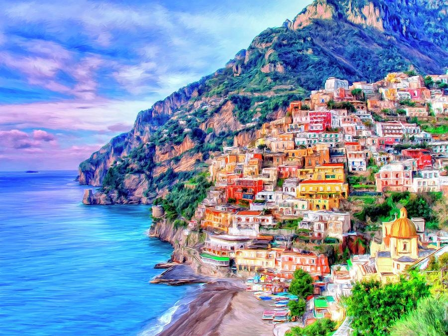 Featured Image of Italian Coast Wall Art
