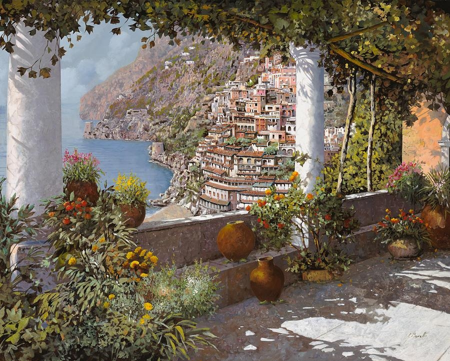 Amalfi Coast Paintings | Fine Art America With Italian Coast Wall Art (View 14 of 20)