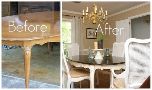 Amazing Decoration Painted Dining Tables Luxury Idea 10 Images In 2017 Painted Dining Tables (View 20 of 20)