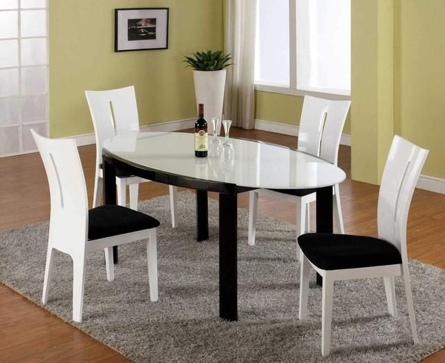 Amazing Design Contemporary Dining Table Set Staggering Modern Throughout Modern Dining Sets (Image 4 of 20)