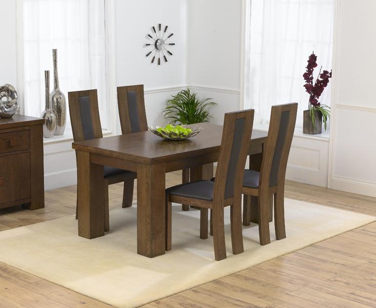 Amazing Dining Table Sets Uk Similiar Dark Wood Dining Table With 2017 Small Dark Wood Dining Tables (Image 2 of 20)