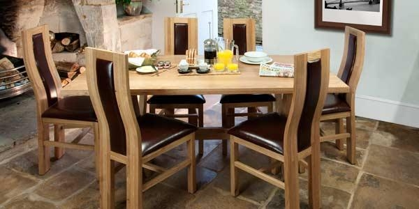 Amazing Of Dining Table And Chairs With Dining Table Chair Set With 2018 Dining Tables And Chairs (Image 1 of 20)