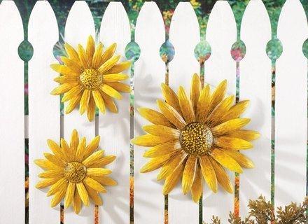 Amazing Sunflower Metal Wall Decor Sculpture Metal Wall Art Wall With Metal Sunflower Wall Art (View 11 of 20)