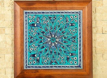Amazoncom: Handmade Handpainted Turkish Ottoman Design Wall Art Throughout Turkish Wall Art (View 8 of 20)