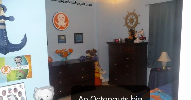 An Octonauts Big Boy Bedroom | Gigglebox Tells It Like It Is Regarding Octonauts Wall Art (Image 4 of 20)