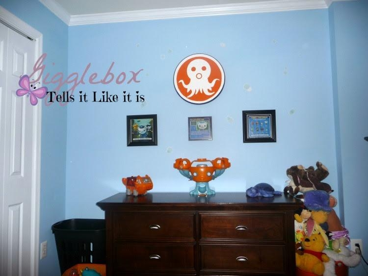 An Octonauts Big Boy Bedroom | Gigglebox Tells It Like It Is With Octonauts Wall Art (Image 5 of 20)
