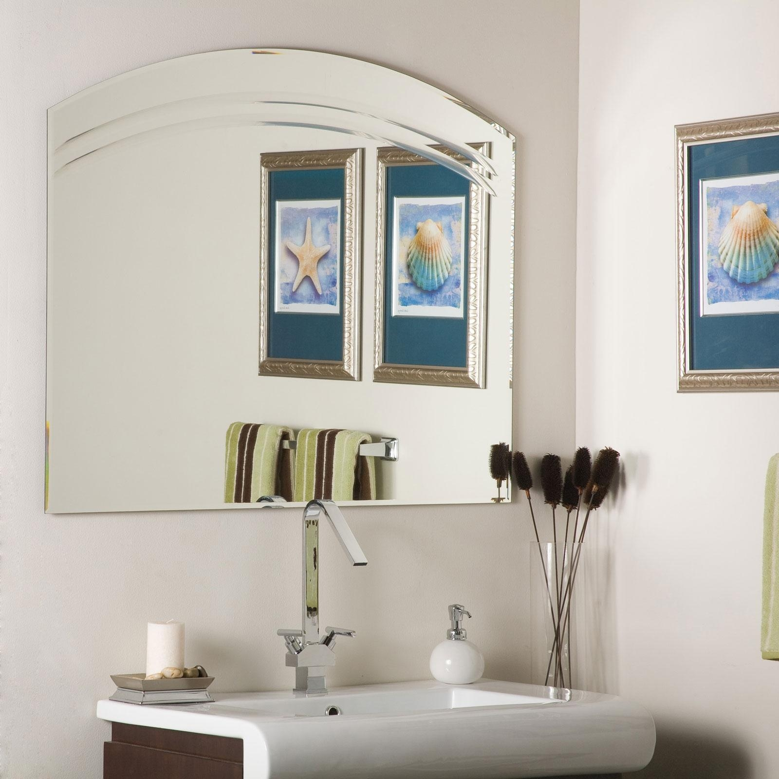 Angel Decor For Bathroom • Bathroom Decor Inside Extra Wide Bathroom Mirrors (Image 2 of 20)