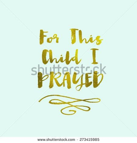 20 Best Collection of For This Child I Prayed Wall Art | Wall Art Ideas