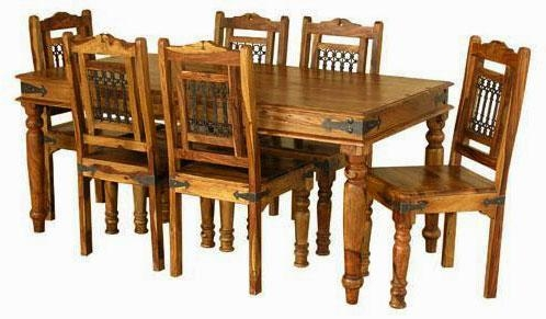 Antique Dining Table – Sl Interior Design In Most Recently Released Indian Dining Tables (Image 2 of 20)
