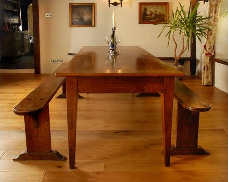 Antique Farmhouse Table,french Farmhouse Dining Room Table,kitchen With Regard To Current French Farmhouse Dining Tables (Image 1 of 20)