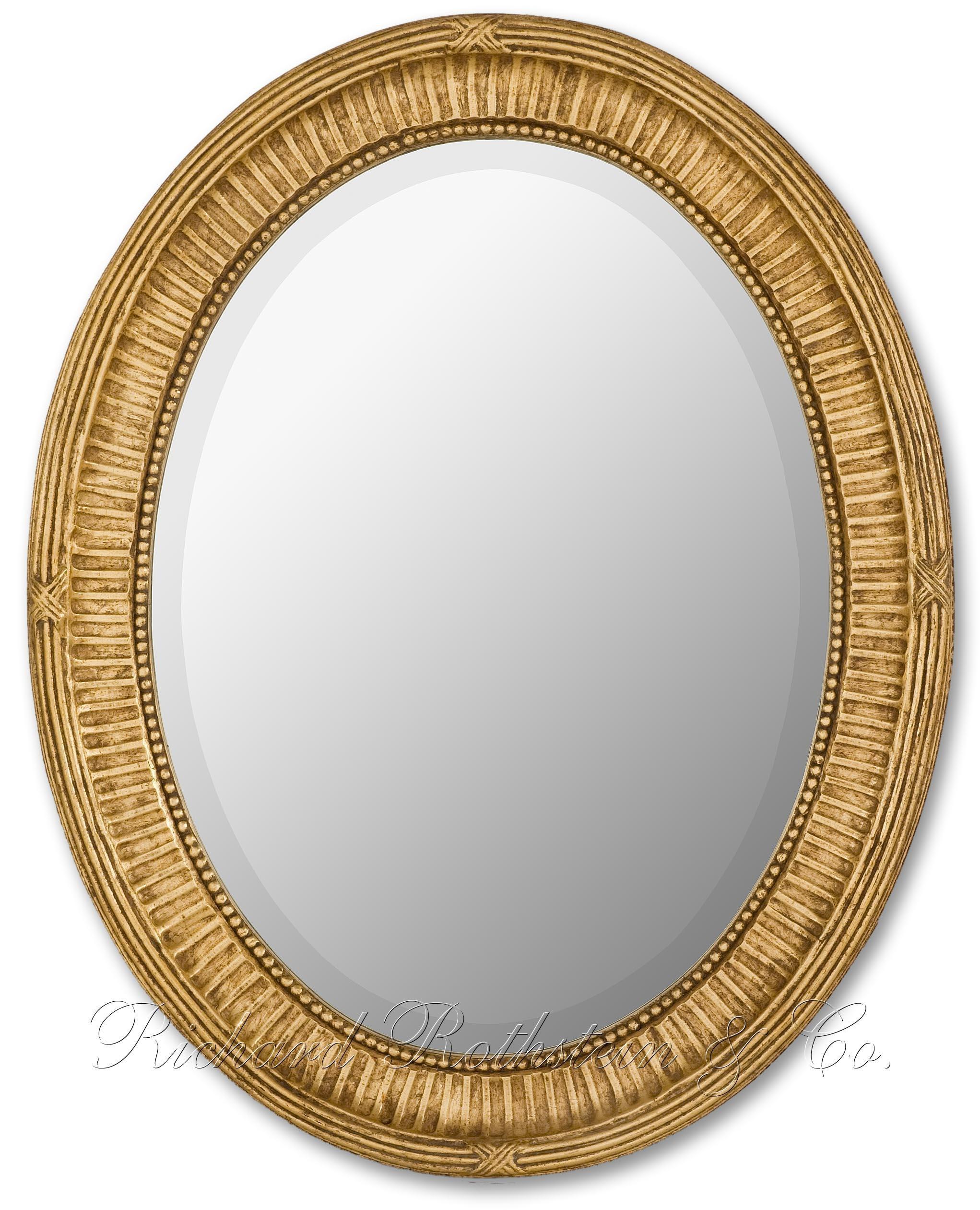 Antique Oval Mirror – Interior4You In Gold Oval Mirrors (Image 4 of 20)