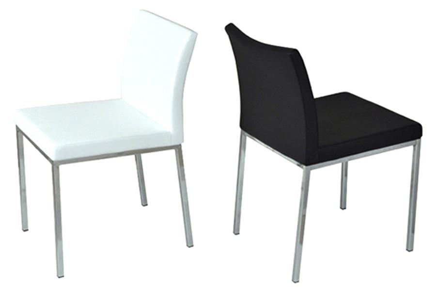 Aria Chrome Dining Chair | Viesso With 2017 Chrome Dining Chairs (View 4 of 20)