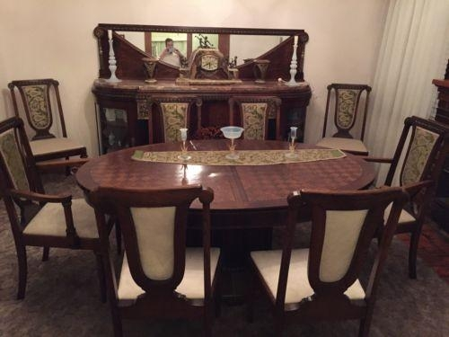 Art Deco De Coene Dining Suite Table Chairs Buffet Sideboard | Ebay For Current Ebay Dining Suites (Image 8 of 20)