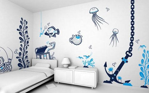Art For The Wall Ideas Entrancing Bedroom Art Ideas Wall – Home For Wall Art For Bedroom (Image 1 of 20)
