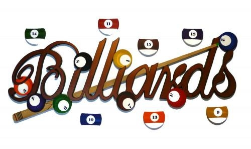 Artfire Markets Regarding Billiard Wall Art (Image 3 of 20)