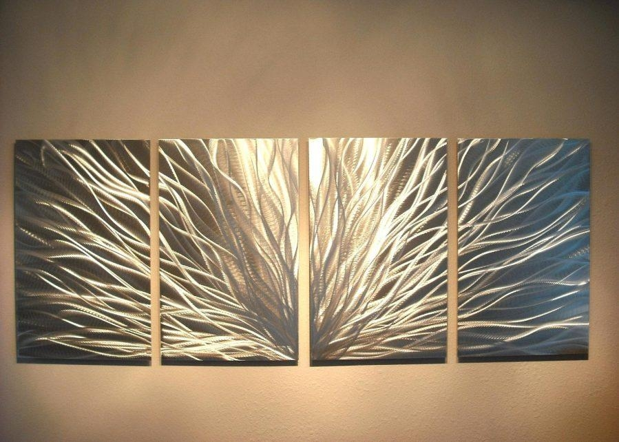 Featured Image of Contemporary Large Oak Tree Metal Wall Art