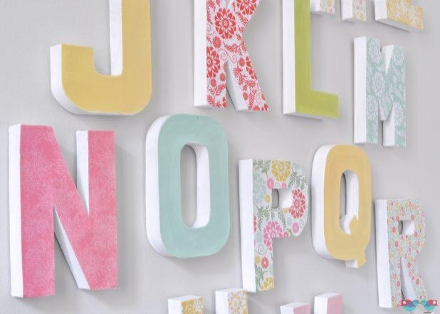 Articles With Decorative Metal Letters Wall Art Tag: Letters Wall Regarding Decorative Metal Letters Wall Art (View 15 of 20)