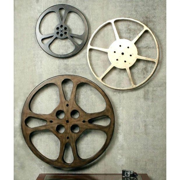 Articles With Film Reel Wall Decor Canada Tag: Movie Wall Decor Intended For Movie Reel Wall Art (Image 5 of 20)