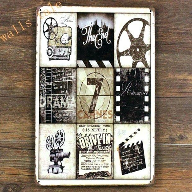 Articles With Film Reel Wall Decor Tag: Movie Reel Wall Decor Throughout Movie Themed Wall Art (View 13 of 20)