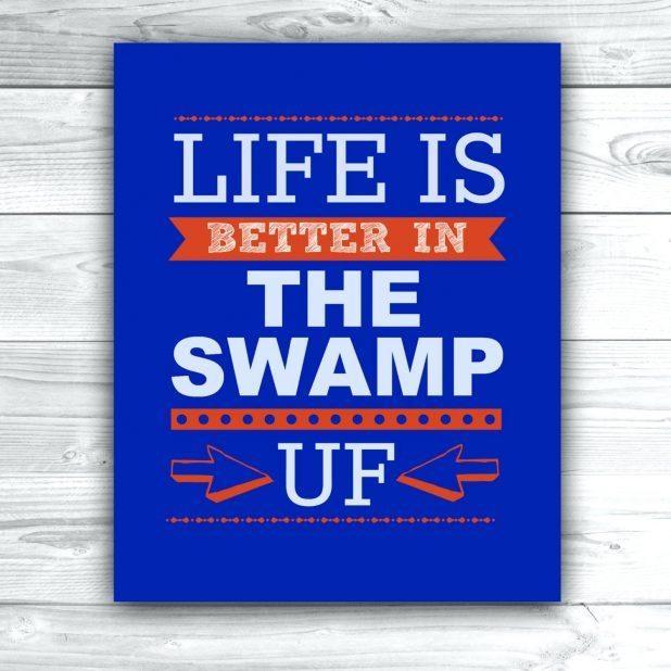 Articles With Florida Gator Wall Art Tag: Florida Gator Wall Art (Image 6 of 20)