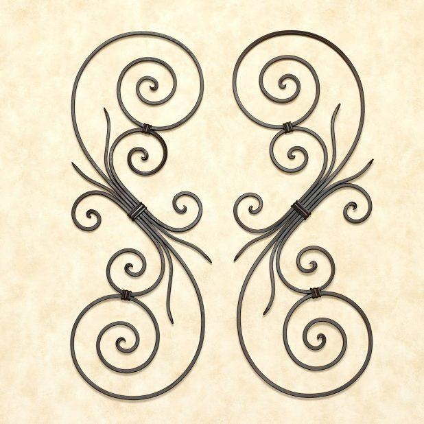 Articles With Iron Scroll Wall Art Tag: Metal Scroll Wall Art Inside Iron Scroll Wall Art (Image 4 of 20)