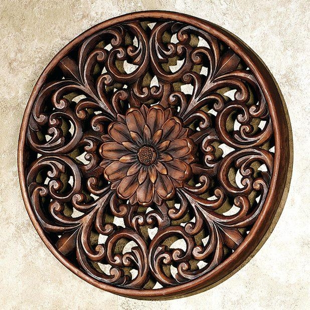 Articles With Large Metal Medallion Wall Art Tag: Metal Wall With Outdoor Medallion Wall Art (Image 4 of 20)