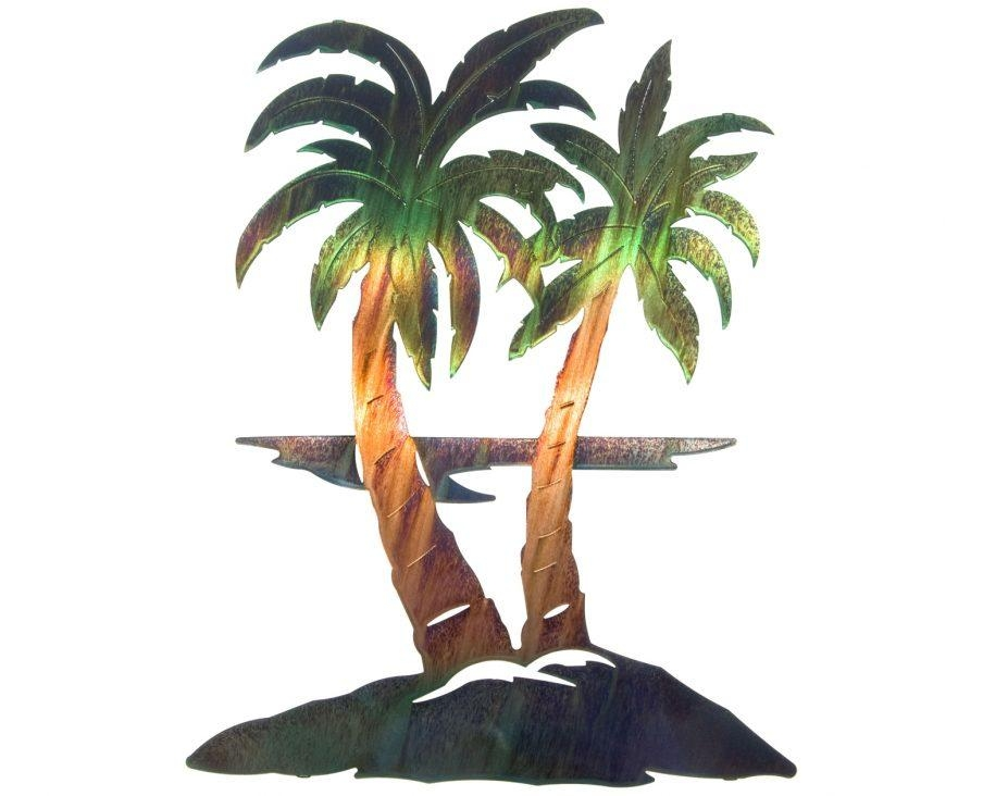 Articles With Large Metal Palm Tree Wall Art Tag: Metal Tree Wall With Palm Tree Metal Wall Art (View 10 of 20)