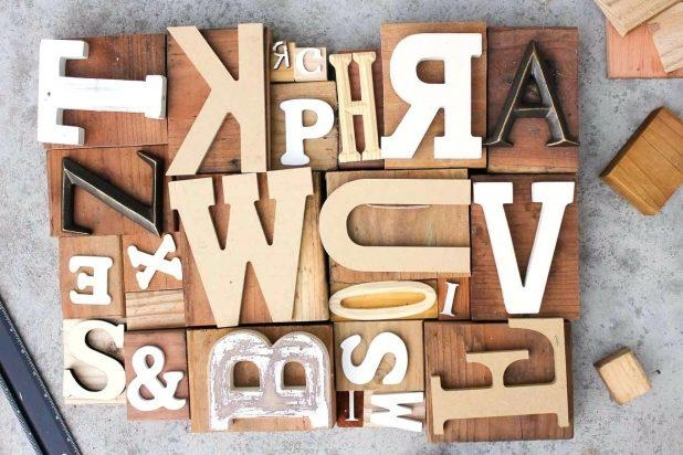 Articles With Wall Art Letters Uk Tag: Wall Art Letters (View 15 of 20)