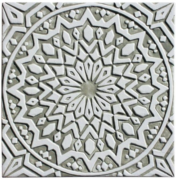 Articles With White Outdoor Metal Wall Art Tag: White Metal Wall Art (Image 4 of 20)