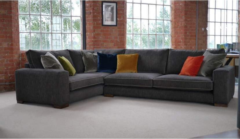Ashdown U Shaped Sofa | Sofas | Darlings Of Chelsea Intended For Corner Sofas (Image 1 of 20)
