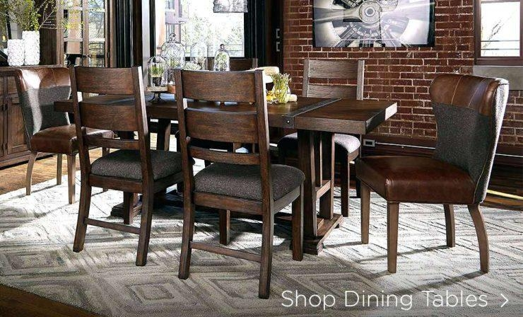 Ashley Dining Table Chairs – Mitventures (Image 3 of 20)