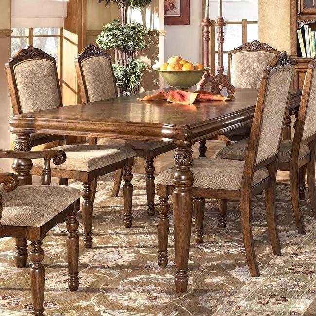 Ashley Dining Table Chairs – Mitventures (Image 4 of 20)
